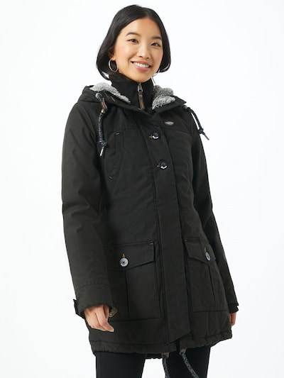 Ragwear Jacke in schwarz, Modelansicht