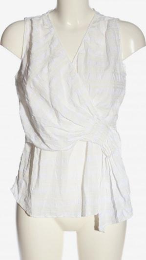 ZARA ärmellose Bluse in S in creme / weiß, Produktansicht