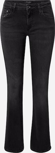 Jeans Mavi pe denim negru, Vizualizare produs