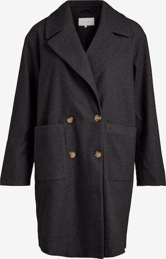VILA Between-Seasons Coat in mottled grey / Black, Item view