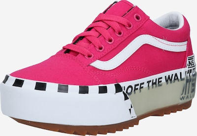 VANS Sneaker low 'UA Old Skool Stacked' i pink / hvid, Produktvisning