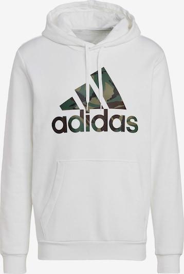 ADIDAS PERFORMANCE Urheilullinen collegepaita värissä tummanruskea / oliivi / tummanvihreä / valkoinen, Tuotenäkymä