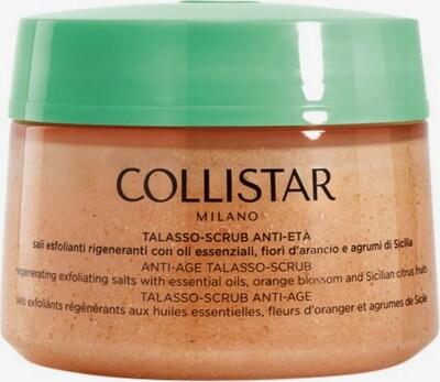 Collistar Körperpeeling 'Anti-Age Talasso-Scrub' in braun / grün / dunkelorange, Produktansicht