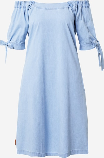 Alife and Kickin Robe 'Annie' en bleu denim, Vue avec produit
