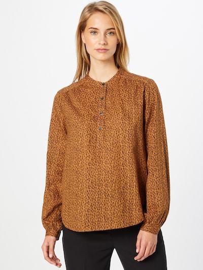 GAP Bluse in braun / honig / schwarz, Modelansicht