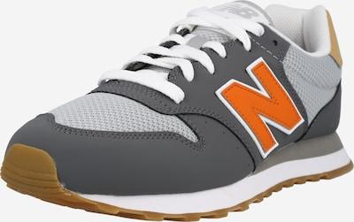 new balance Sneakers laag in de kleur Grijs / Donkergrijs / Sinaasappel, Productweergave