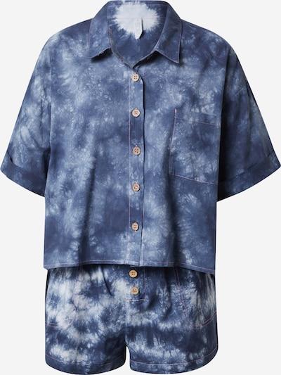Cotton On Body Pyjamashortsit värissä laivastonsininen / valkoinen, Tuotenäkymä