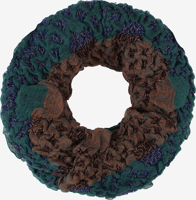 usha FESTIVAL Écharpe tube en marron / bleu violet / baie, Vue avec produit