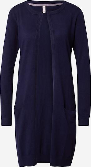 PULZ Jeans Strickjacke 'SARA' in navy, Produktansicht