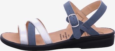 Ganter Sandalen/Sandaletten in blau / naturweiß, Produktansicht