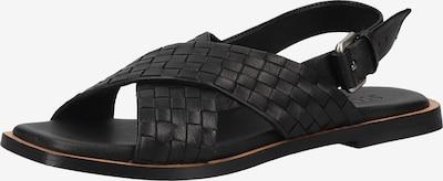 SHABBIES AMSTERDAM Sandalen met riem in de kleur Zwart, Productweergave