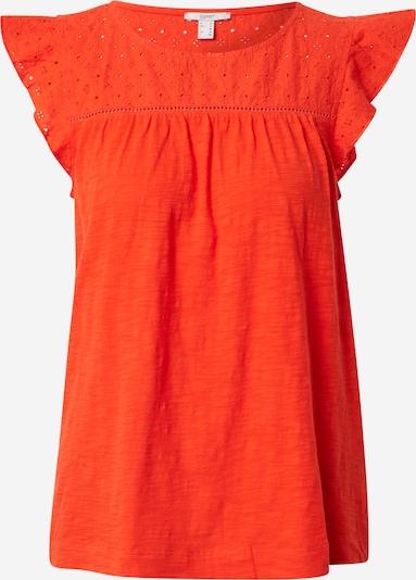 ESPRIT T-Shirt 'EMBRO' in orangerot, Produktansicht