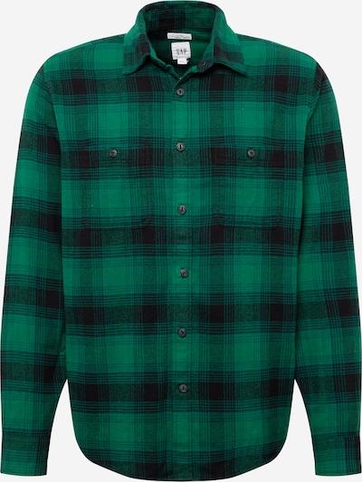 GAP Hemd in grün / schwarz, Produktansicht