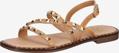 SANSIBAR Sandales à lanières en marron, Vue avec produit