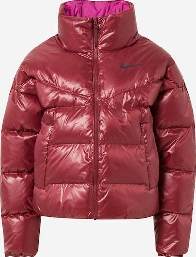 Nike Sportswear Jacke in weinrot, Produktansicht