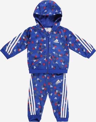 ADIDAS PERFORMANCE Sportski komplet u plava / crvena / bijela, Pregled proizvoda