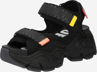 BUFFALO Pohodni sandali 'BINARY' | črna barva, Prikaz izdelka