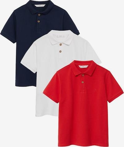 MANGO KIDS T-Shirt en bleu / rouge / blanc, Vue avec produit