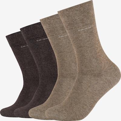 camano Socken in braun, Produktansicht