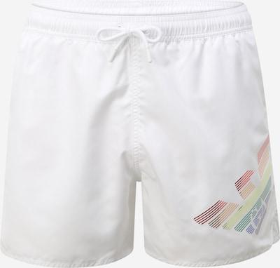 Emporio Armani Zwemshorts in de kleur Gemengde kleuren / Wit, Productweergave