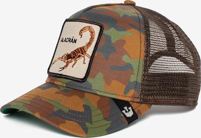 Cappello da baseball 'Alacran' GOORIN Bros. di colore beige / marrone / verde, Visualizzazione prodotti