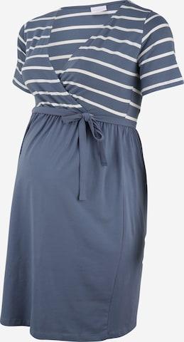 MAMALICIOUS Dress in Blue
