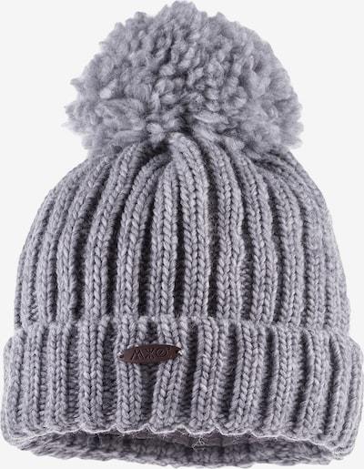 MAXIMO Bonnet 'LESLIE' en gris chiné, Vue avec produit