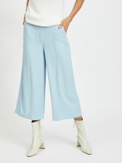 VILA Pantalón en azul cielo, Vista del modelo