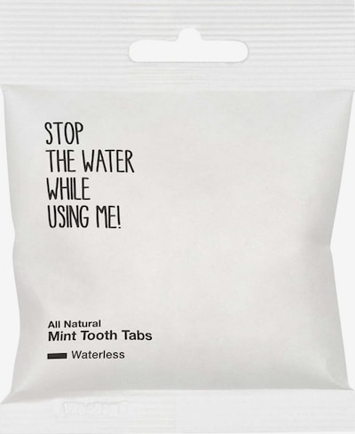 STOP THE WATER WHILE USING ME! Dental Hygiene 'Mint Tooth' in White, Item view