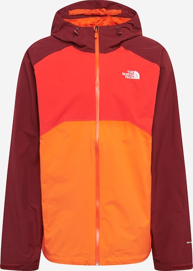 THE NORTH FACE Outdoorjas 'Stratos' in de kleur Sinaasappel / Rood / Donkerrood, Productweergave
