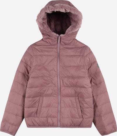 Abercrombie & Fitch Veste mi-saison en violet, Vue avec produit