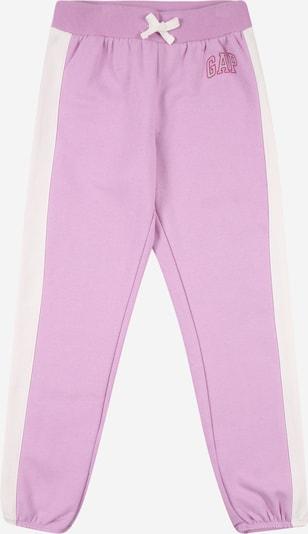 GAP Nohavice - svetlofialová / biela, Produkt