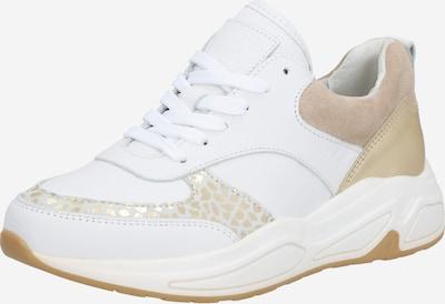 BULLBOXER Baskets basses en or / blanc, Vue avec produit