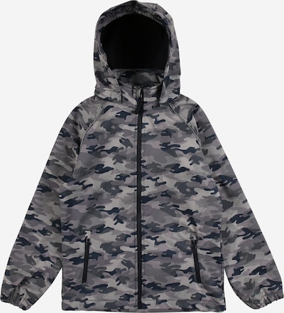 NAME IT Jacke 'Alfa' in dunkelblau / grau / hellgrau, Produktansicht