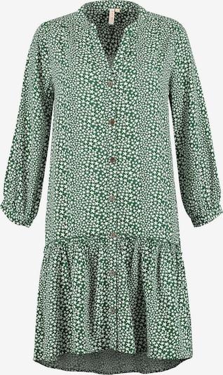 Shiwi Kleid 'Tuvalu' in smaragd / weiß, Produktansicht
