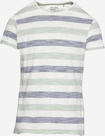 BLEND Тениска в бяло