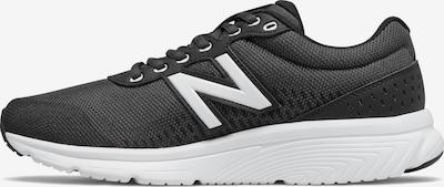 new balance Chaussure de course en noir / blanc, Vue avec produit