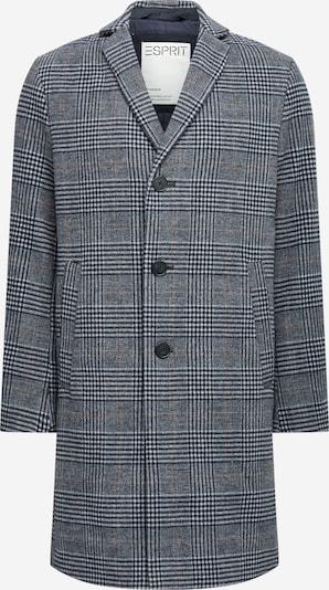 Palton de primăvară-toamnă ESPRIT pe albastru închis / gri / negru, Vizualizare produs