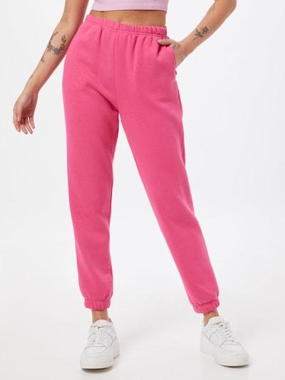 Gina Tricot Housut värissä vaaleanpunainen: Näkymä edestä