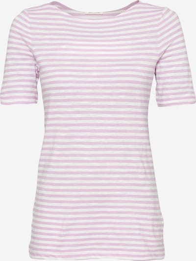Marc O'Polo Shirts i lilla / hvid, Produktvisning