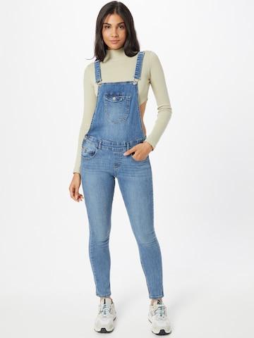 ONLY Tuinbroek jeans 'KIM' in Blauw