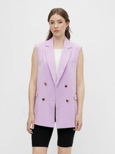 PIECES Suit Vest 'Monna' in Purple, View model