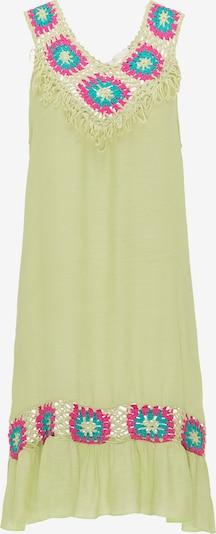 usha FESTIVAL Sommerkleid in neonblau / hellgelb / neonpink, Produktansicht