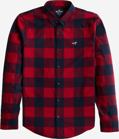 HOLLISTER Hemd in navy / rot, Produktansicht