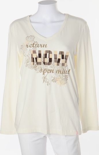 GIN TONIC Top & Shirt in XL in Ivory, Item view