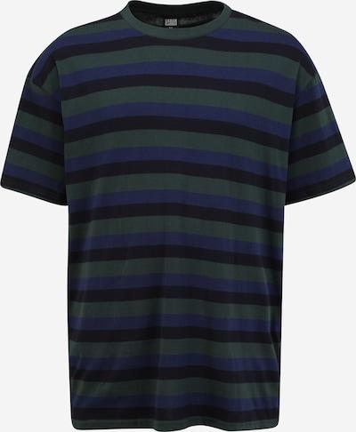 Urban Classics Big & Tall T-Shir 'College' in blau / dunkelblau / dunkelgrün, Produktansicht