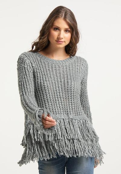 IZIA Sweater in Grey, View model