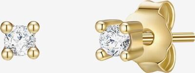Glanzstücke München Silber-Ohrstecker in goldgelb, Produktansicht