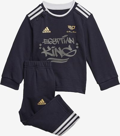 ADIDAS PERFORMANCE Sportski komplet u mornarsko plava / zlatna / bijela, Pregled proizvoda