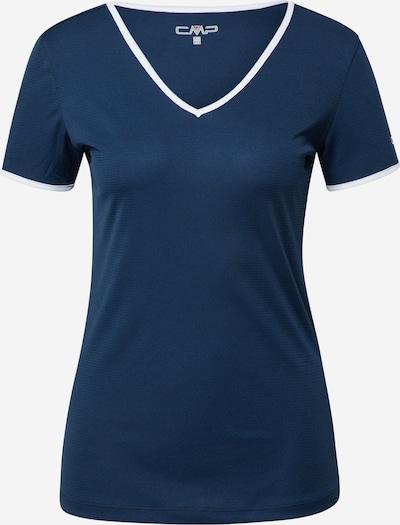 CMP T-shirt fonctionnel en bleu violet / blanc, Vue avec produit